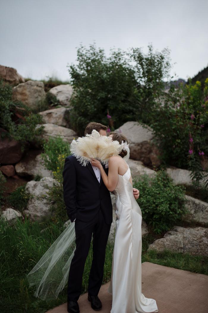 aspen colorado wedding photographer at the maroon bells in